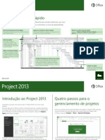 Guia rápido - Project 2013