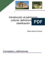 Clase Patrimonio Semana1 2012 2