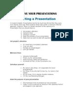 Improve Your Presentations - Copia
