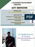 Facilities - Renovation