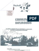 May 15, 1995 pathogenesis in boxwoods consult