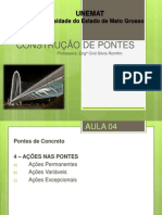 AULA 04 - AÇÕES NAS PONTES