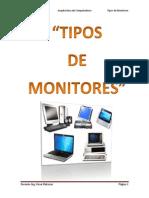 Tipos de Monitores