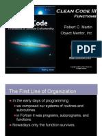 Clean Code Functions (Java)