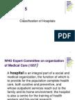 Hospital Classsification 5 Oct 2012