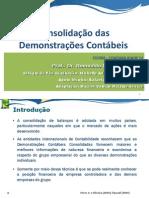 Consolidação das Demonstrações Contábeis