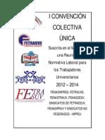 Proyecto Convencion Unificado Consignado 21-01-2013