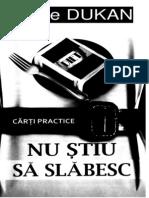 75141804 Dukan Nu Stiu Sa Slabesc