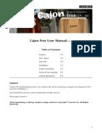 Cajon Free Manual