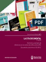 La Cita Documental