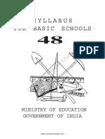 Syllabus for Basic Schools