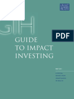 GIH Guide to Impact Investing FINAL May 2011