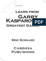 Bonus Chapters Learn From Kasparov s Greatest Games