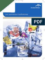 Panneaux Chambre Froide Brochure 2011 MENAWATT ALGERIE