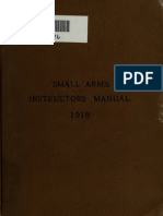 US Army Small Arms 1918