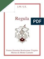 Carmelitas - Regra