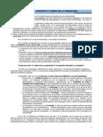 1. Concepto y Campo de la Psiquiatría - Concepctos de Normalidad-Anormalidad en Psiquiatría - Dr. Muñoz 2010
