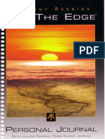 Get the Edge - Personal Journal