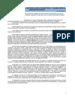 4. Entrevista, Historia Clínica Psiquiátrica y Examen Mental (Psicopatológico) - Dr. Muñoz 2010