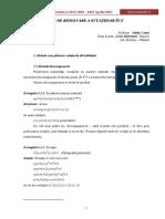 apr2011 Metode de rezolvare a ecuatiilor în Z