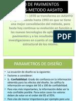 DISEÑO DE PAVIMENTOS FLEXIBLES-METODO AASHTO