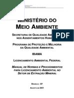 MANUAL Mineracao