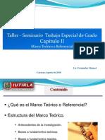 Taller - Seminario - Capitulo II