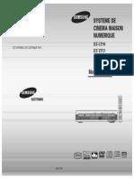 SAMSUNG_Home Theater HT-TP33_Manuel d'Utilisation
