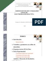 Zinc Electroobtencion