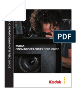 Cinematographers Field Guide