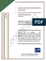 ED SPA 315 - Pengidentifikasian Dan Penilaian Risiko Salah Saji Material Melalui Pemahaman Atas Entitas Dan Lingkungannya_2