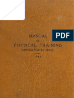 US Army Manual of Physical Training 1914