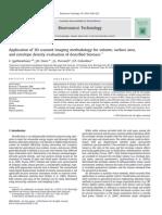 Application of 3D Scanned Imaging Methodology for Volume, Surface Area,