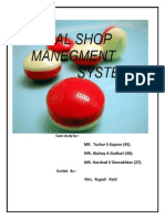 88851573 Medical Shop Management System