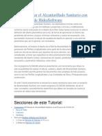 Cómo Diseñar el Alcantarillado Sanitario con CLOACAS de HidraSoftware