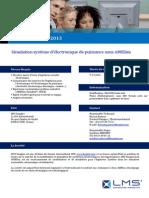 LMS IMAGINE_Lyon_Simulation système d'électronique de puissance sous AMESim.2_17.10.12