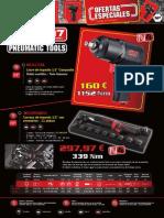 Promoción M7 2014 Herramienta neumática