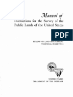Manual of Instructions for the Surve of the Public Lands of the United States - 1973 - BLM