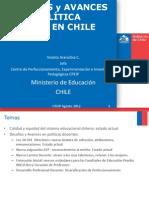 Avances y Desafios en Politica Docente Santiago 240812 - Copia