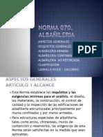 NORMA 070 - ALBAÑILERIA