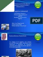 Antecedentes Históricos, Entorno Empresarial para el Siglo XXI, Beneficios y Alcances de la Logística.