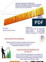 Diapositivas de Economia de La Salud