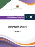 Dokumen Standard Dunia Sains Dan Teknologi Tahun 1