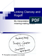 Linking Clancey and Rogoff