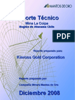 Informe Reservas 2008 - Mina La Coipa