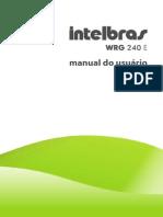 Manual Do Usuario WRG 240 E Roteador Wireless 54 Mbps (1)