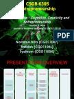Cognition Creativity and Entrepreneurship