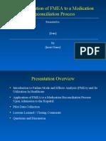 Defining the Problem - FMEA Med Rec
