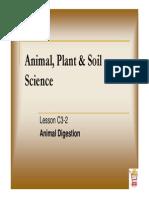 Understanding Animal Digestive System