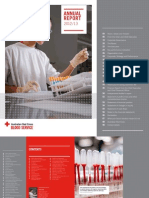 Blood Service Annual Report 2013